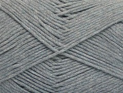 Přírodní bavlna air - šedá