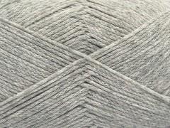Přírodní bavlna air - světle šedá