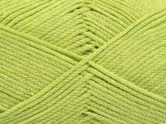 Přírodní bavlna air - světle zelená 1