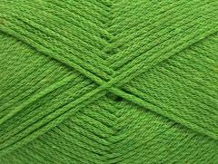 Přírodní bavlna air - světle zelená