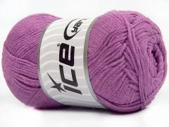Přírodní bavlna air - tmavě fialová