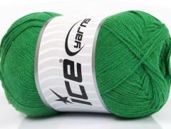 Přírodní bavlna air - zelená