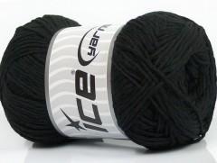 Přírodní bavlna - černá