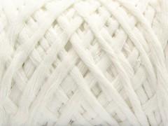 Přírodní bavlna chunky - bílá