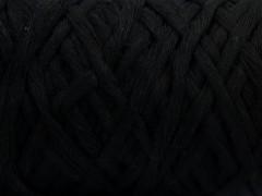 Přírodní bavlna chunky - černá