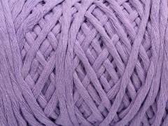 Přírodní bavlna chunky - fialová