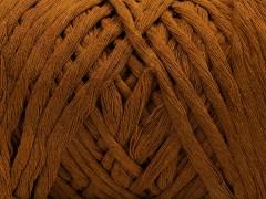 Přírodní bavlna chunky - hnědá