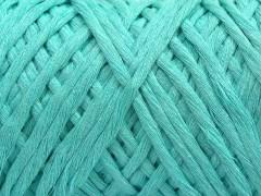 Přírodní bavlna chunky - mátově zelená