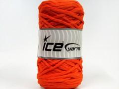 Přírodní bavlna chunky - oranžová