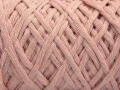 Přírodní bavlna chunky - pudrově růžová