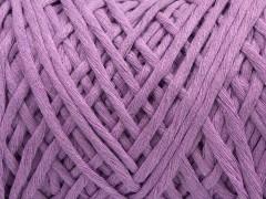 Přírodní bavlna chunky - světle fialová