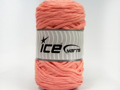 Přírodní bavlna chunky - světle lososová 1