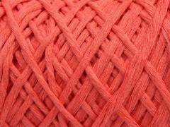 Přírodní bavlna chunky - světle lososová