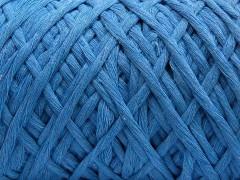Přírodní bavlna chunky - světle modrá