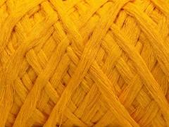 Přírodní bavlna chunky - žlutá
