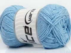 Přírodní bavlna - dětská modrá