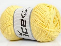 Přírodní bavlna - dětská žlutá