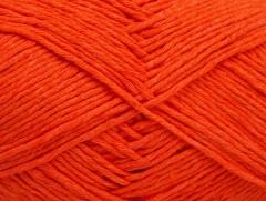 Přírodní bavlna - oranžová 3