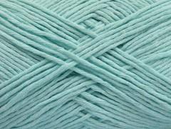 Přírodní bavlna - světlá mátově zelená 1