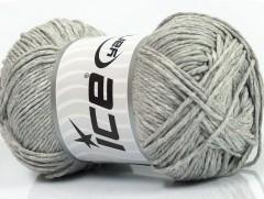 Přírodní bavlna - světle šedá