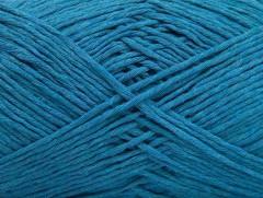 Přírodní bavlna - tyrkysová 1