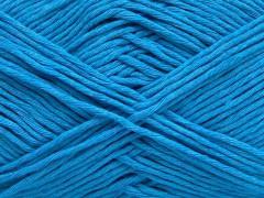 Přírodní bavlna - tyrkysová