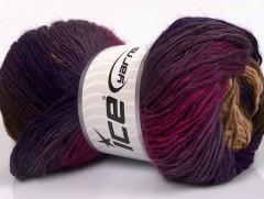 Rainbow - purpurovofuchsiovohnědá