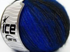 Rock star metallic - modročerná