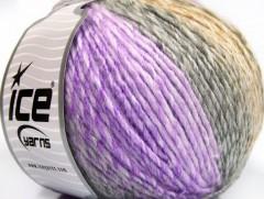 Roseto worsted - fialovošedovelbloudí