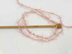 Scrubber Twist - pudrově růžová