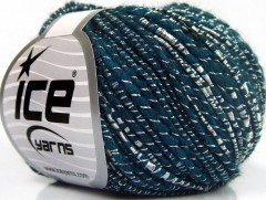 Shine Alpaka - modrozelená