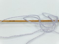 Silk - hedvábí - fialová 1