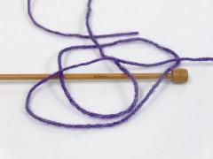 Silk merino DK - purpurová