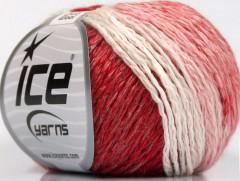 Soft chain vlna - červenobílá
