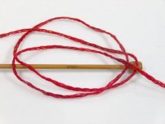 Soft chain vlna - červenočerná