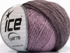 Soft chain vlna - fialovokaštanová