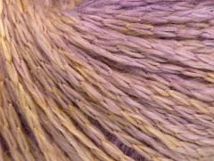 Soft chain vlna - fialovožlutá