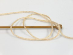 Soft chain vlna - hnědovelbloudíkrémová