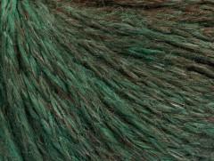 Soft chain vlna - hnědozelená
