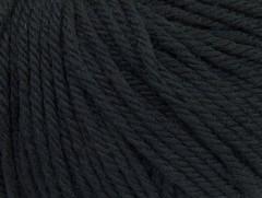 Superwash vlna bulky - černá