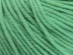 Superwash vlna bulky - mátově zelená