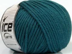 Superwash vlna bulky - modrozelená