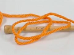 Superwash vlna bulky - oranžová