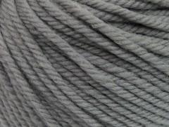 Superwash vlna bulky - šedá