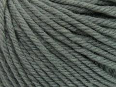Superwash vlna bulky - tmavě šedá