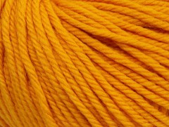 Superwash vlna bulky - tmavě žlutá