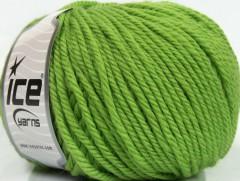 Superwash vlna bulky - zelená