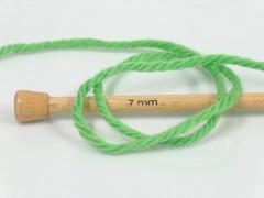 Superwash vlna bulky - zelená ostřejší