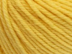 Superwash vlna bulky - žlutá