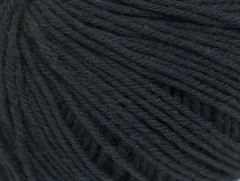 Superwash vlna - černá